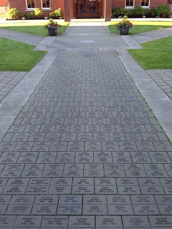 custom engraved paving stones